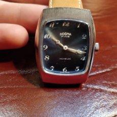 Relojes de pulsera: RELOJ DE PULSERA DOGMA FINE,SIN USO CARGA MANUAL. FUNCIONANDO SETENTERO. Lote 53704123