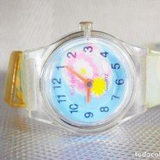 Relojes de pulsera: ALEGRE Y FRESCO RELOJ DE DAMA O IMFANTIL BUENA CALIDAD FUNCIONA LOTE WATCHES. Lote 175965547