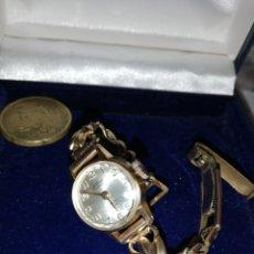 Relojes de pulsera: RELOJ JUSTINA. 17 RUBÍES.. Lote 176087419