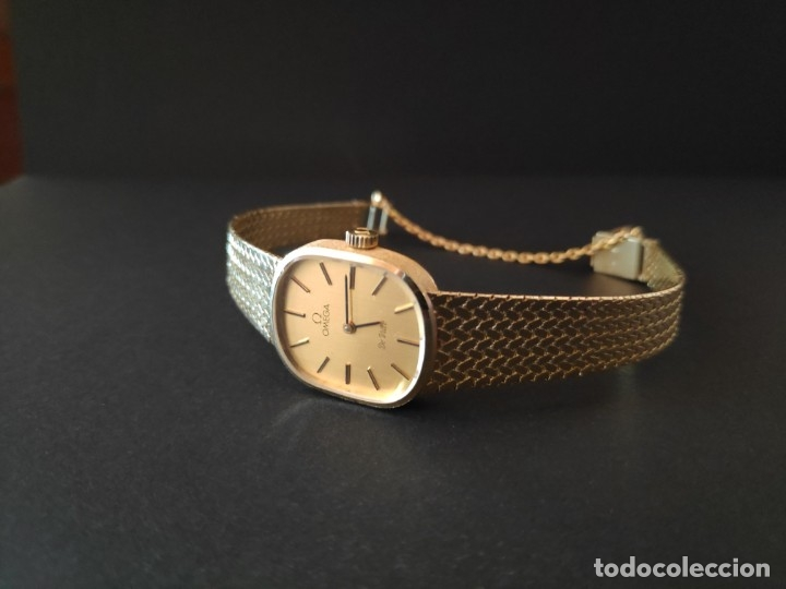 Relojes de pulsera: Reloj de Oro Omega de Ville 18kt - Foto 7 - 176119599