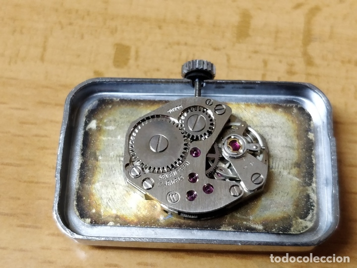 Relojes de pulsera: Reloj de pulsera Dogma Fine, carga manual, funcionando. Muy original esfera - Foto 13 - 53703881