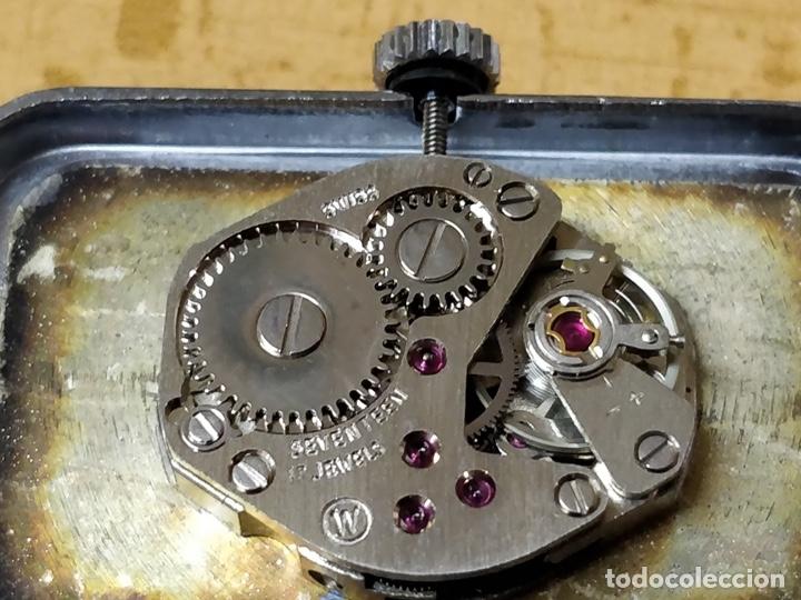 Relojes de pulsera: Reloj de pulsera Dogma Fine, carga manual, funcionando. Muy original esfera - Foto 4 - 53703881