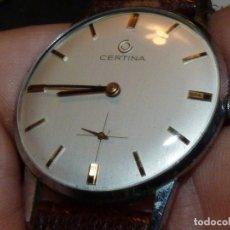 Relojes de pulsera: ELEGANTE RELOJ CERTINA CABALLERO CARGA MANUAL CALIBRE 28-10 AÑOS 60 COLECCION VINTAGE. Lote 176300408