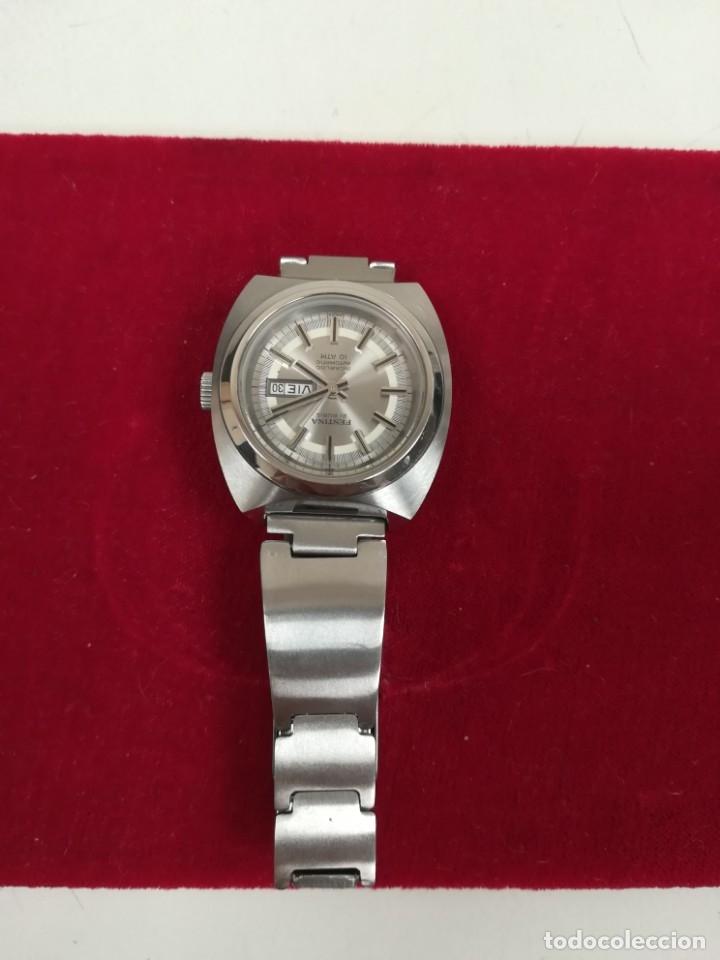 Relojes de pulsera: Bonito reloj Festina años 70 totalmente nuevo automático 10 ATM Swiss - Foto 7 - 176309449