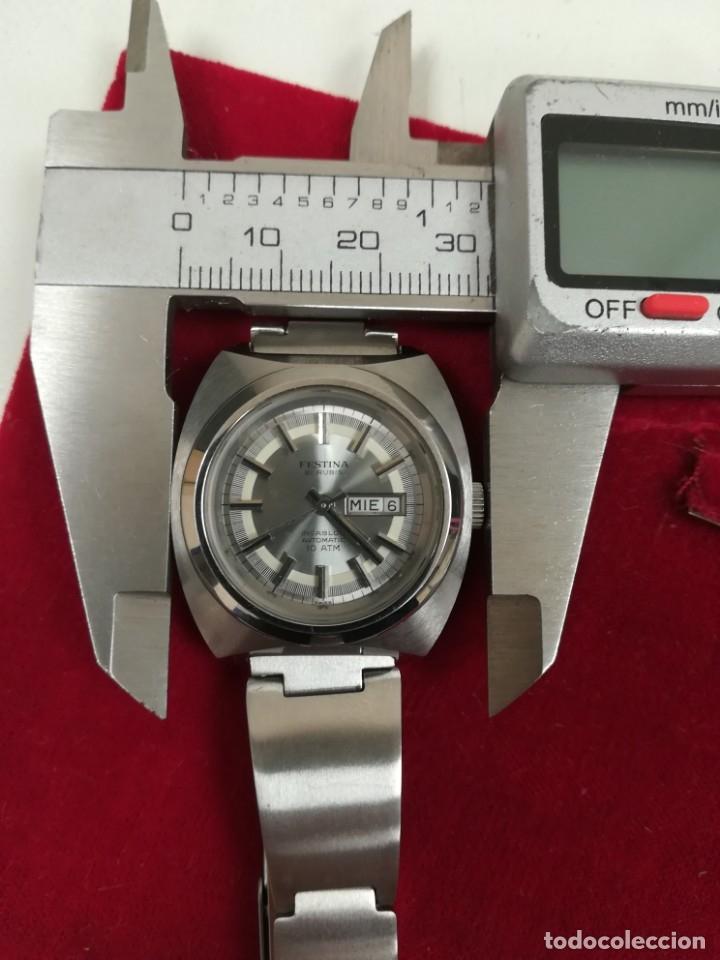 Relojes de pulsera: Bonito reloj Festina años 70 totalmente nuevo automático 10 ATM Swiss - Foto 16 - 176309449