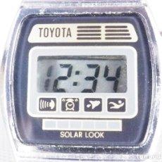 Relojes de pulsera: DIFICIL DE ENCONTRAR TOYOTA ELECTRONICO DE 1980 BUEN ESTADO FUNCIONA LOTE WATCHE. Lote 176554553