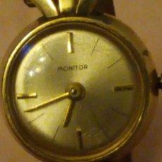 Relógios de pulso: ANTIGUO RELOJ MONITOR AMERIC METAL.CARGA MANUAL,DE SEÑORA,AÑOS 40/50. Lote 176600530