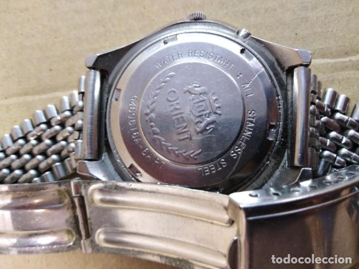 Relojes de pulsera: Reloj orient automatic 21 jewels ( funciona perfectamente) - Foto 4 - 176631985