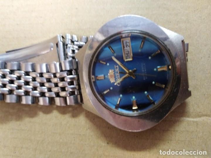 Relojes de pulsera: Reloj orient automatic 21 jewels ( funciona perfectamente) - Foto 7 - 176631985