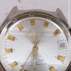 Relojes de pulsera: RELOJ ORIENT CARGA MANUAL PARA PIEZAS 21 JEWELS. Lote 176687484