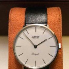 Relojes de pulsera: RELOJ MECÁNICO DE CUERDA CAMY ROYAL. SWISS MADE.. Lote 176700698
