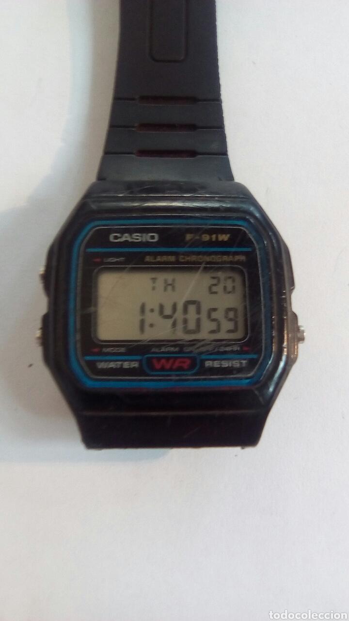 RELOJ CASIO F-91W (Relojes - Pulsera Carga Manual)