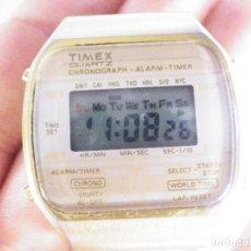 Relojes de pulsera: ANTIGUO TIMEX ELECTRONICO DE CABALLERO FUNCIONA Y NECESITA ATENCION LOTE WATCHES. Lote 176764463