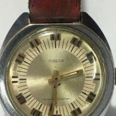 Relojes de pulsera: RELOJ POBEDA CARGA MANUAL MAQUINARIA RUSIA VINTAGE PARA COLECCIONISTAS. Lote 176797778