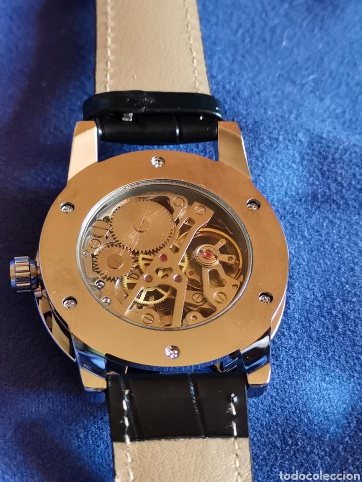 Relojes de pulsera: Reloj de pulsera carga manual, maquinaria vista - Foto 2 - 176816684