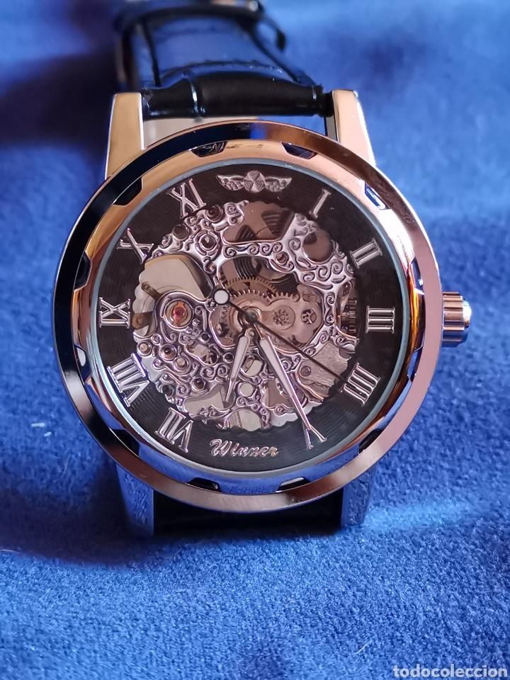 RELOJ DE PULSERA CARGA MANUAL, MAQUINARIA VISTA (Relojes - Pulsera Carga Manual)