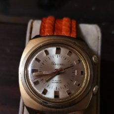 Relojes de pulsera: RELOJ DE PULSERA SUIZO PRECIBEL, CON ALARMA. Lote 176866204