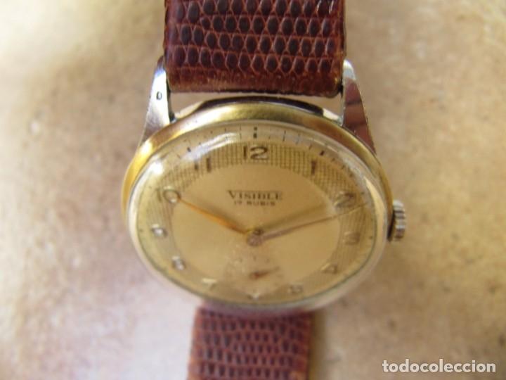 Relojes de pulsera: ANTIGUO RELOJ DE CUERDA VISIBLE 17 RUBIS - Foto 16 - 203633760