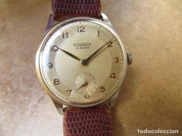 Relojes de pulsera: ANTIGUO RELOJ DE CUERDA VISIBLE 17 RUBIS - Foto 18 - 203633760