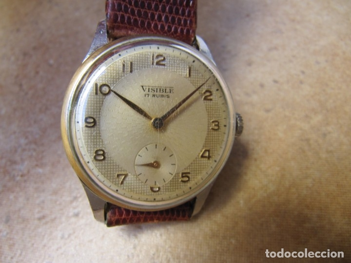 Relojes de pulsera: ANTIGUO RELOJ DE CUERDA VISIBLE 17 RUBIS - Foto 23 - 203633760