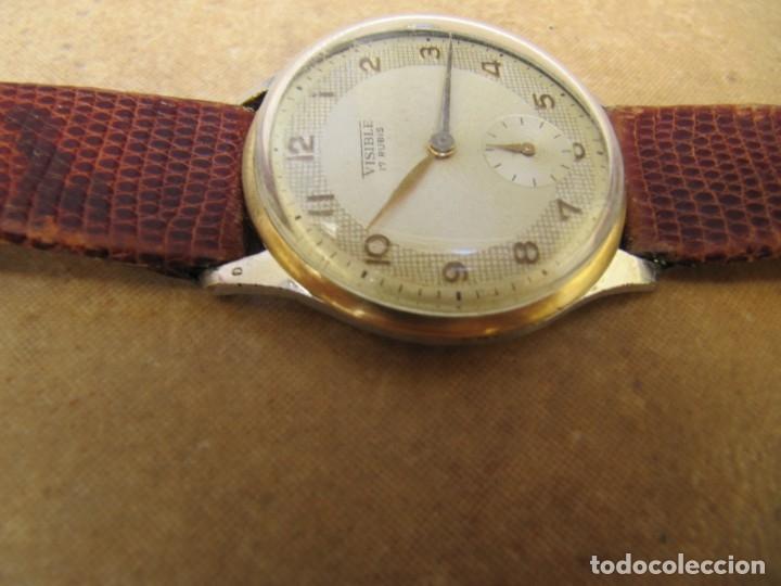 Relojes de pulsera: ANTIGUO RELOJ DE CUERDA VISIBLE 17 RUBIS - Foto 24 - 203633760