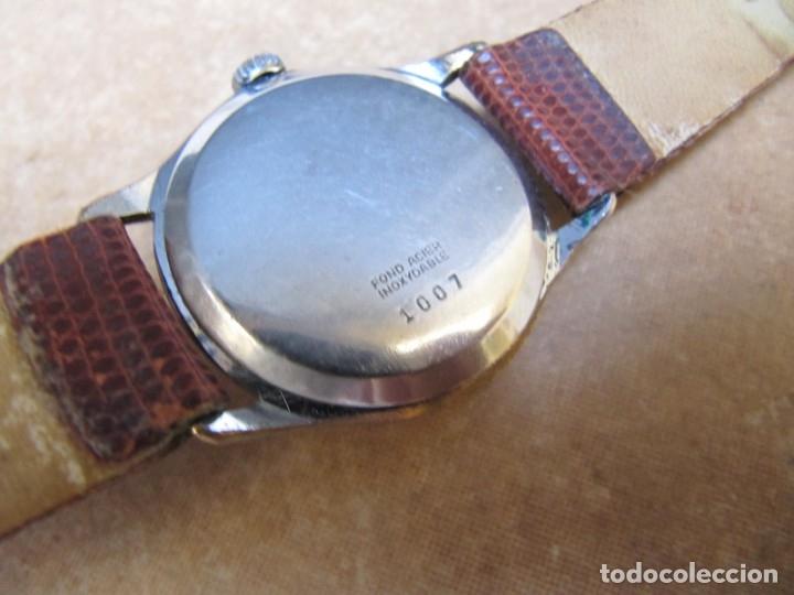 Relojes de pulsera: ANTIGUO RELOJ DE CUERDA VISIBLE 17 RUBIS - Foto 25 - 203633760
