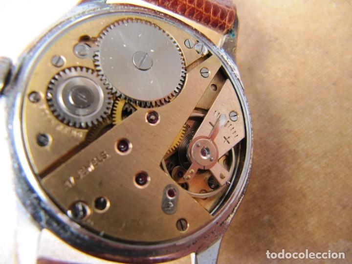 Relojes de pulsera: ANTIGUO RELOJ DE CUERDA VISIBLE 17 RUBIS - Foto 27 - 203633760