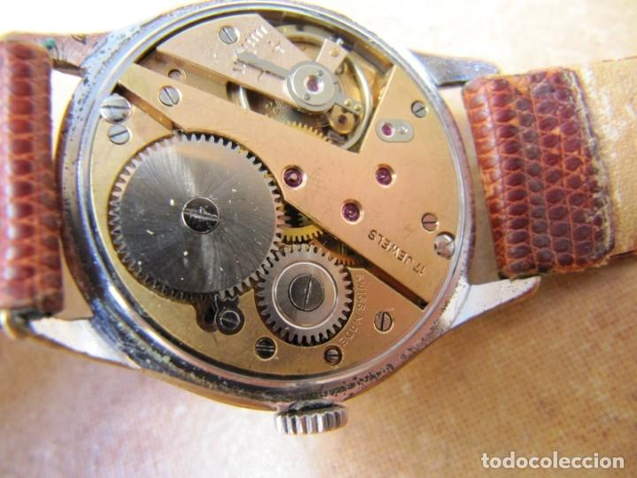 Relojes de pulsera: ANTIGUO RELOJ DE CUERDA VISIBLE 17 RUBIS - Foto 28 - 203633760