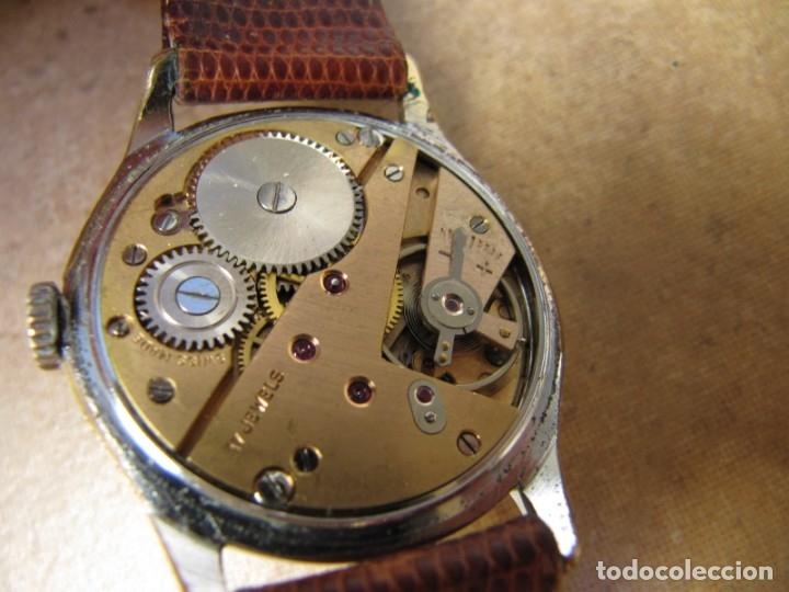 Relojes de pulsera: ANTIGUO RELOJ DE CUERDA VISIBLE 17 RUBIS - Foto 29 - 203633760