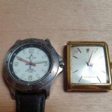 Relojes de pulsera: 2 RELOJES CALIPSO PILA Y FESTINA A CUERDA FUNCIONANDO PERFECTAMENTE LOS 2. Lote 176982652