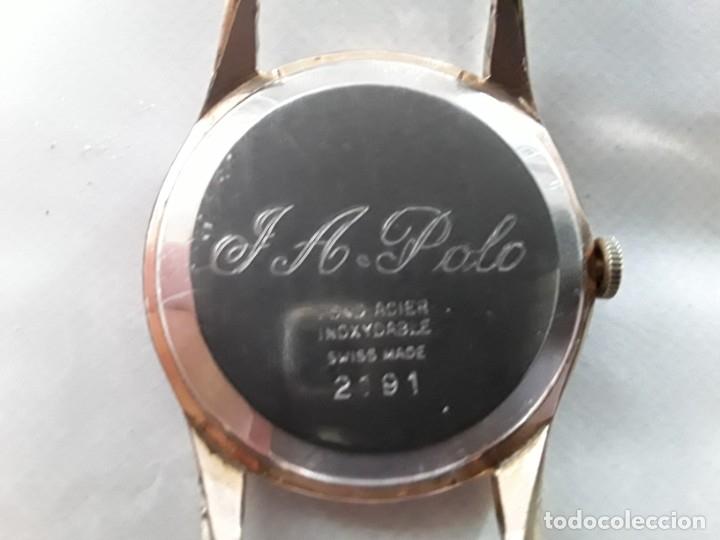 Relojes de pulsera: Reloj antiguo de cuerda marca incitus,suizo, la maquinaria funciona, quizás de oro ,o plaque - Foto 2 - 177050909