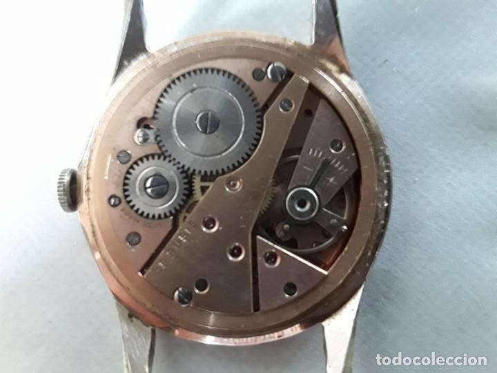 Relojes de pulsera: Reloj antiguo de cuerda marca incitus,suizo, la maquinaria funciona, quizás de oro ,o plaque - Foto 3 - 177050909