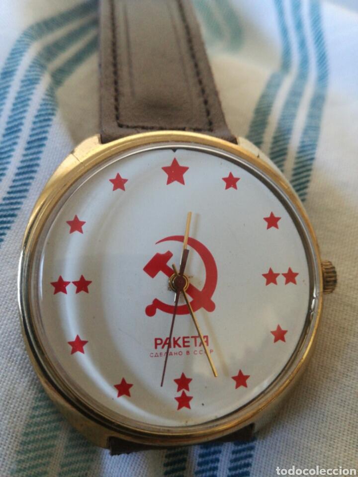 Relojes de pulsera: Reloj Ruso Raketa Conmemorativo Union Sovietica - Foto 2 - 177088852