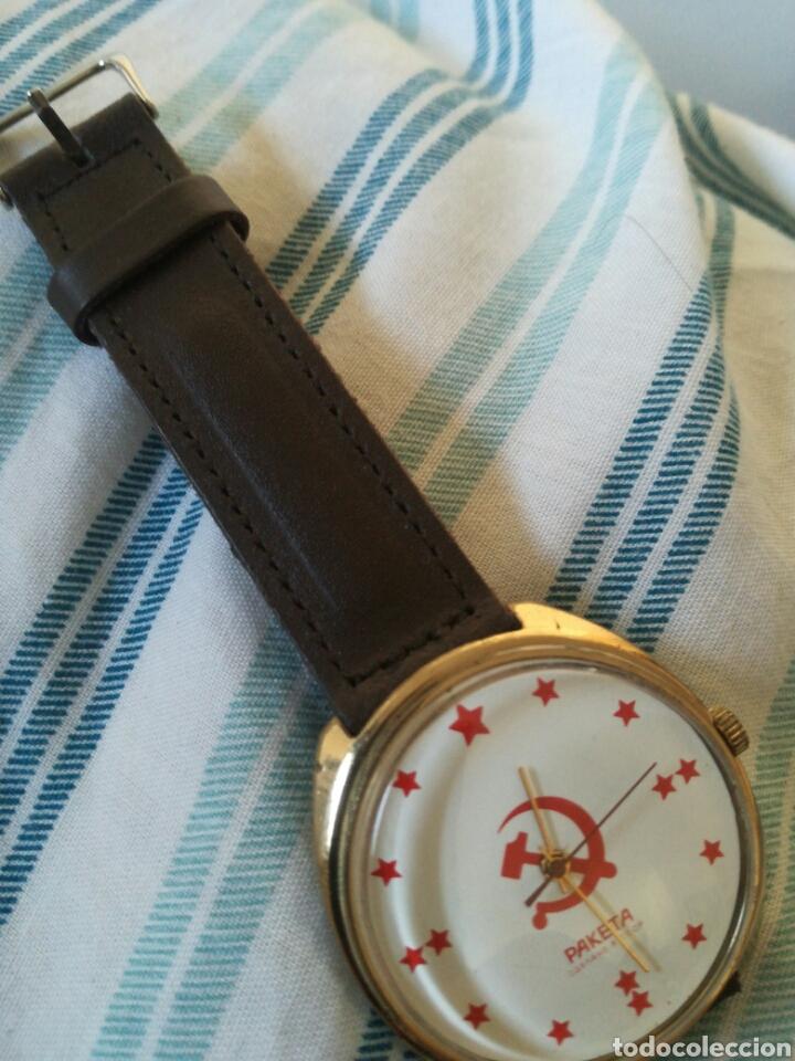 Relojes de pulsera: Reloj Ruso Raketa Conmemorativo Union Sovietica - Foto 7 - 177088852