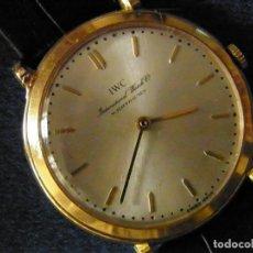 Relojes de pulsera: IWC ORO 18 KILATES CUERDA. Lote 177123579