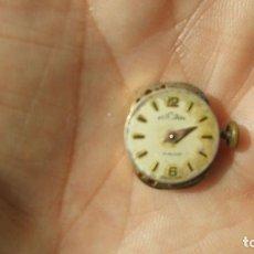Relojes de pulsera: ANTIGUA MAQUINARIA DE RELOJ DE PULSERA TUCAM - FUNCIONA. Lote 177140107
