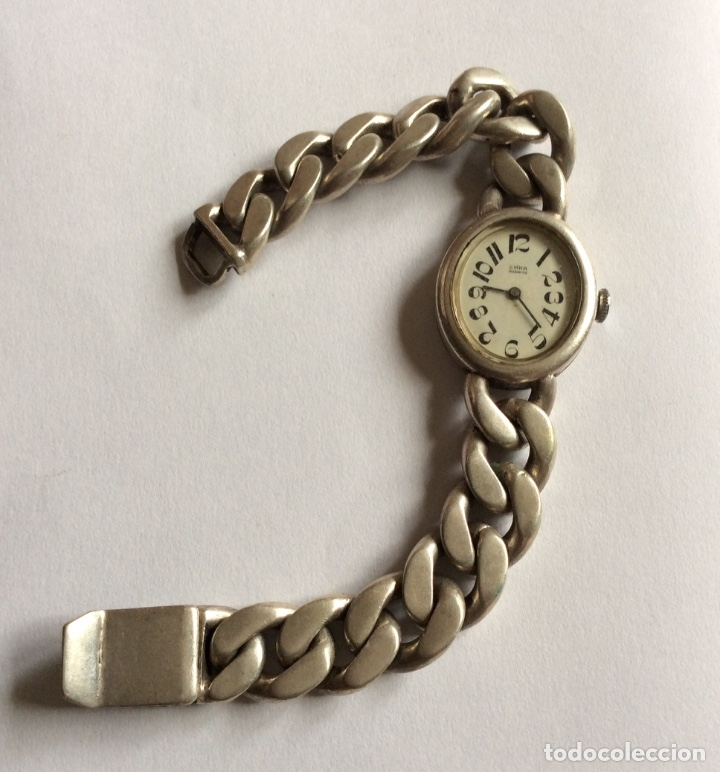 EMKA GENEVE SEÑORA RELOJ DE PULSERA PLATA 800 MILÉSIMAS. (Relojes - Pulsera Carga Manual)
