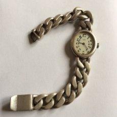 Relojes de pulsera: EMKA GENEVE SEÑORA RELOJ DE PULSERA PLATA 800 MILÉSIMAS. . Lote 177190473