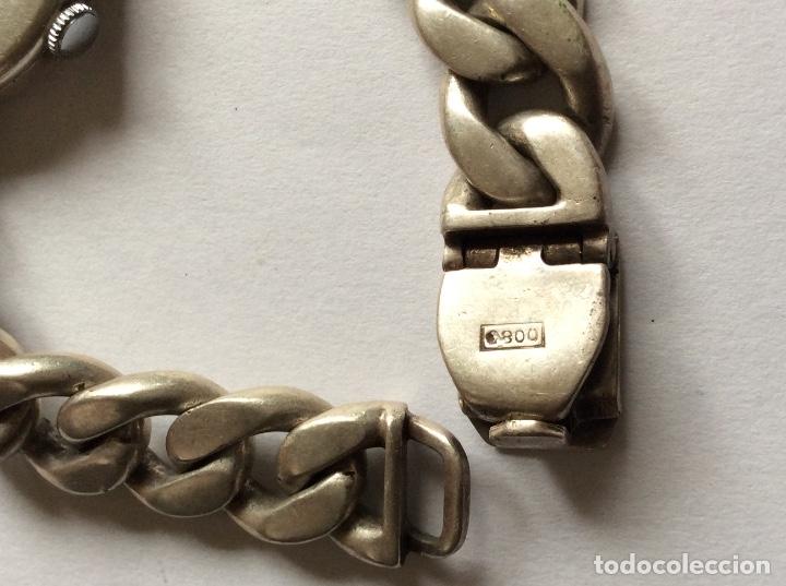 Relojes de pulsera: Emka Geneve señora reloj de pulsera plata 800 Milésimas. - Foto 5 - 177190473