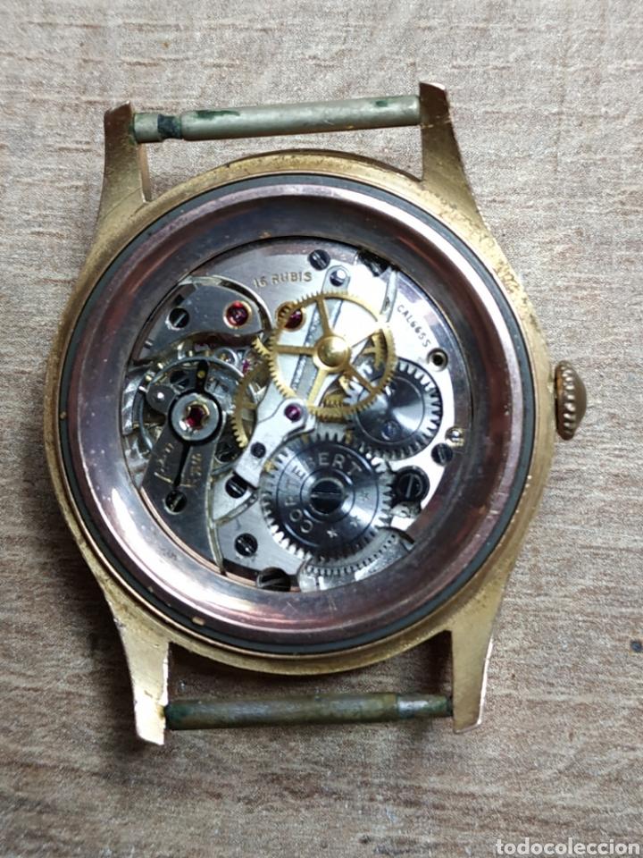 Relojes de pulsera: Antiguo reloj pulsera en oro 18kl CORTEBERT. - Foto 2 - 177295482