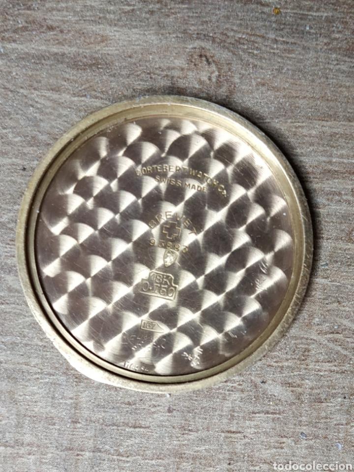Relojes de pulsera: Antiguo reloj pulsera en oro 18kl CORTEBERT. - Foto 3 - 177295482