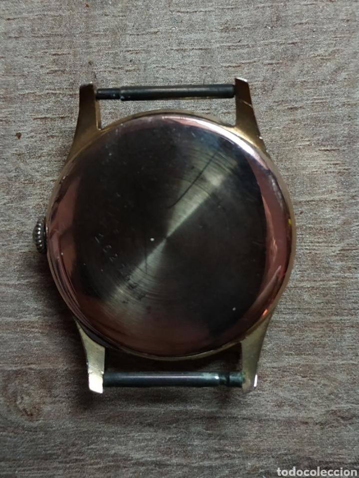Relojes de pulsera: Antiguo reloj pulsera en oro 18kl CORTEBERT. - Foto 4 - 177295482