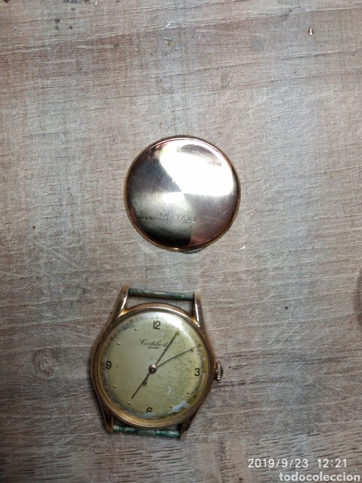 Relojes de pulsera: Antiguo reloj pulsera en oro 18kl CORTEBERT. - Foto 5 - 177295482