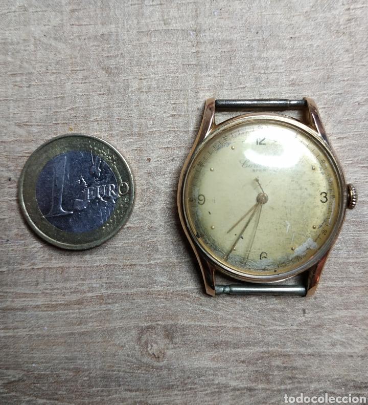 Relojes de pulsera: Antiguo reloj pulsera en oro 18kl CORTEBERT. - Foto 7 - 177295482