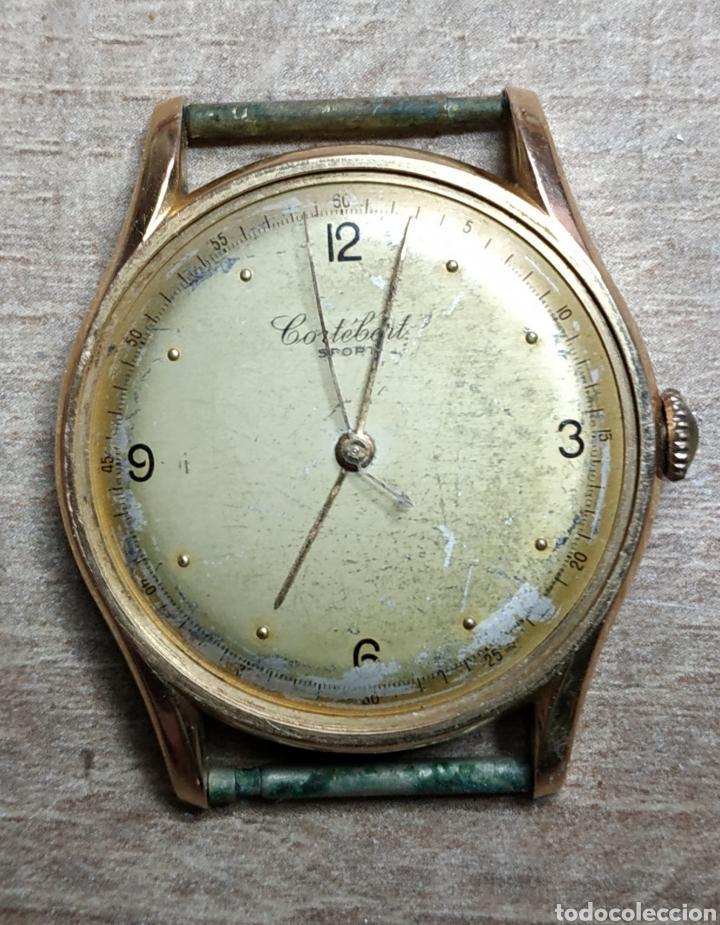 ANTIGUO RELOJ PULSERA EN ORO 18KL CORTEBERT. (Relojes - Pulsera Carga Manual)