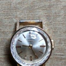 Relojes de pulsera: ANTIGUO RELOJ DE ORO 18KL. LONGINES DE DAMA NO FUNCIONA. Lote 177295900