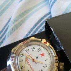 Relojes de pulsera: RELOJ MILITAR RUSO MANUAL VOSTOK GENERALSKI NUEVO EMBALAJE ORIGINAL. Lote 98385767