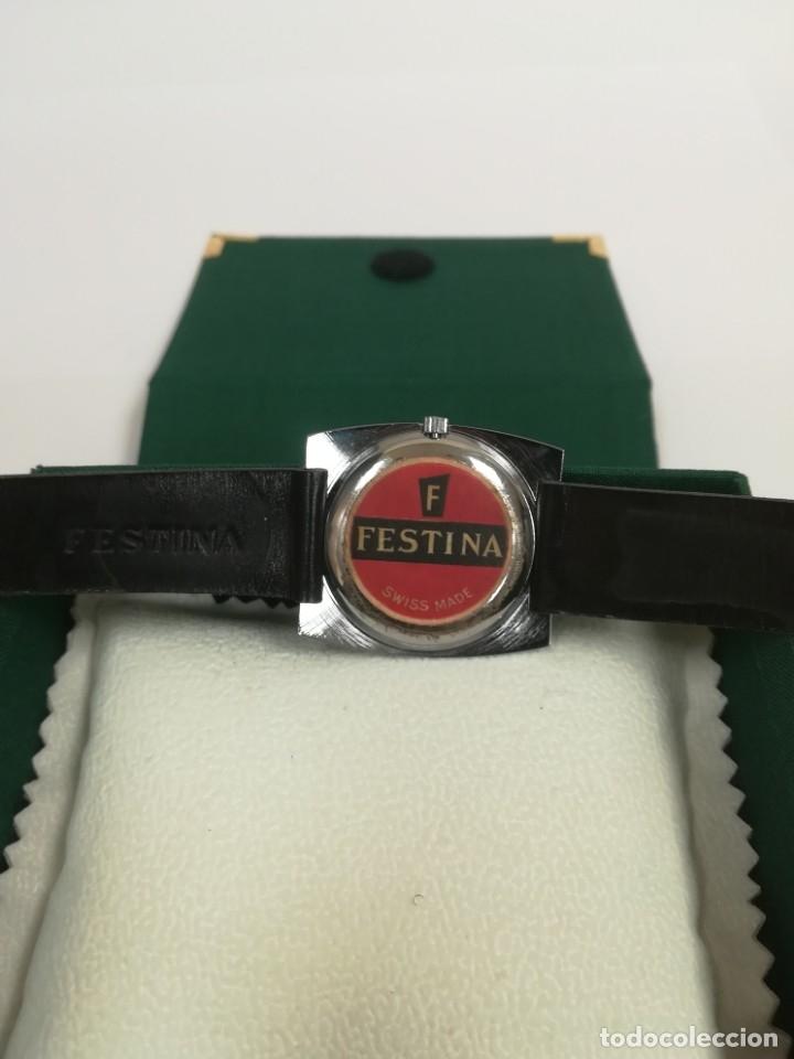Relojes de pulsera: Reloj Festina años 70 incabloc Swiss totalmente nuevo - Foto 4 - 177529578