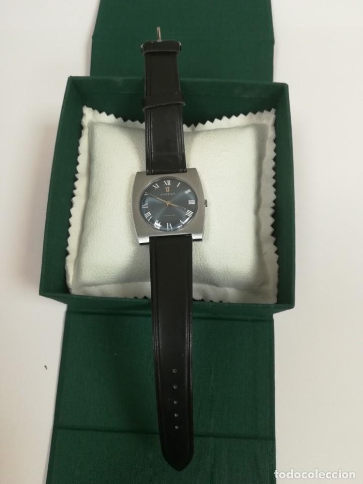 Relojes de pulsera: Reloj Festina años 70 incabloc Swiss totalmente nuevo - Foto 9 - 177529578