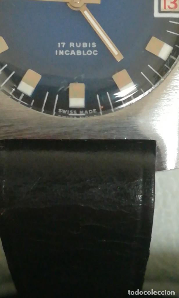 Relojes de pulsera: Reloj Festina años 70 incabloc calendario Swiss totalmente nuevo - Foto 4 - 177529829